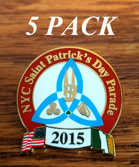 2014 NYC St. Patrick's Day Parade Pin