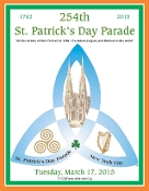2015 NYC St. Patrick's Day Parade Program